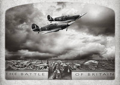 The Battle Of Britain Art Print by Peter Chilelli