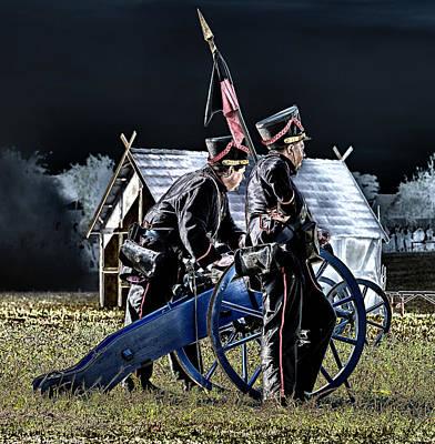 The Battle Of Dennewitz - Cease Fire Art Print by Thomas Schreiter