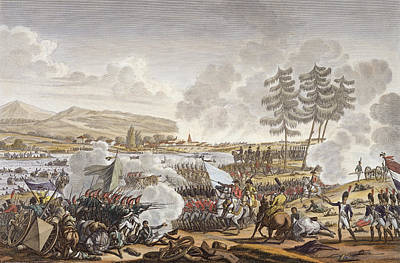 Napoleon Bonaparte Drawing - The Battle Of Friedland, 14 June 1807 by Jacques Francois Joseph Swebach