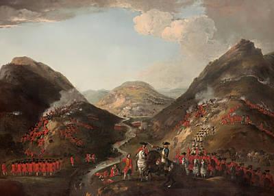 Scotland Painting - The Battle Of Glen Shiel 1719 by Mountain Dreams