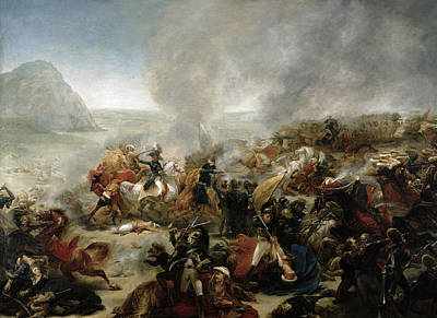 Turkish Painting - The Battle Of Nazareth by Baron Antoine Jean Gros