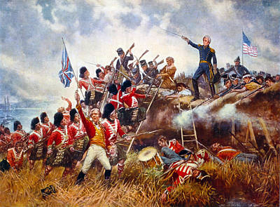 The Battle Of New Orleans  Art Print by Edward Percy Moran