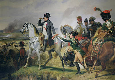 The Battle Of Wagram, 6th July 1809, 1836 Oil On Canvas Art Print