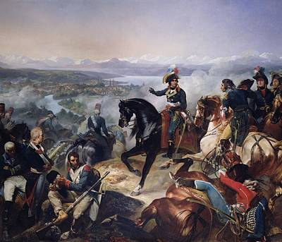 The Battle Of Zurich, 25th September 1799, 1837 Oil On Canvas Art Print