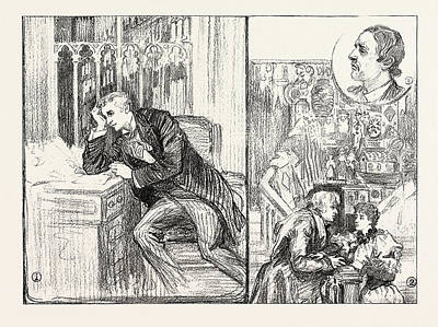 Austin Drawing - The Bauble Shop, New Play At The Criterion Theatre Viscount by English School
