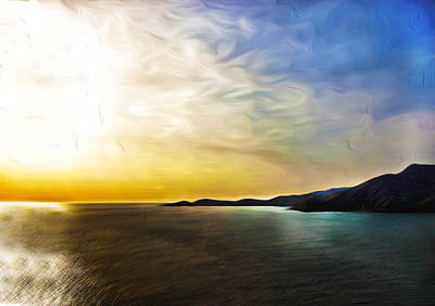 San Francisco Bay Digital Art - The Bay by Camille Lopez