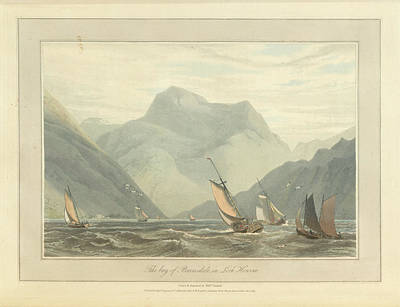 In The Round Photograph - The Bay Of Barrisdale In Loch Hourne by British Library