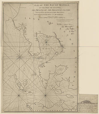 The Bay Of Manila Art Print by British Library