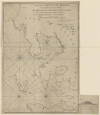 The Bay Of Manila Art Print