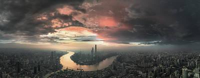 China Wall Art - Photograph - The Bay by Stan Huang