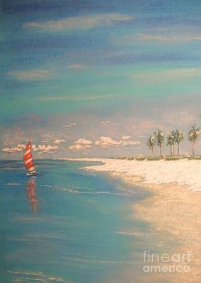 Painting - The Bay by The Beach  Dreamer