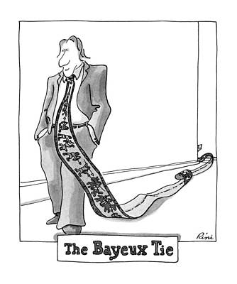 The Bayeux Tie Art Print