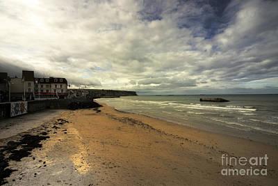 Thomas Kinkade - The Beach at Arrowmanches-les-bains by Rob Hawkins