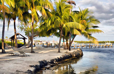 Photograph - The Beach At Coconut Palm Inn by Ginger Wakem