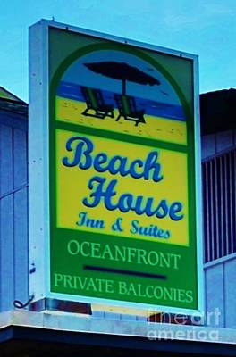 Photograph - The Beach House by Bob Sample