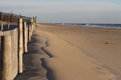 Photograph - The Beach In Fenwick Island by Robert Banach