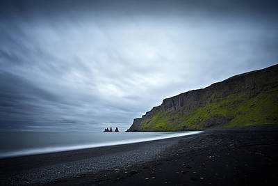 Mountain Photograph - The Beach Of The Trolls by Dominique Dubied
