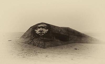Sphinx Mixed Media - The Beach Sphinx by Jb Atelier