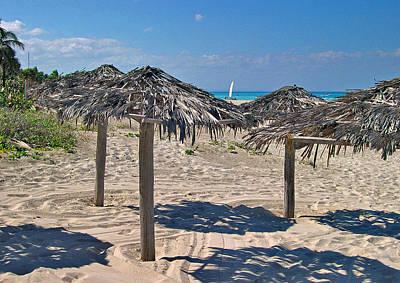 Hemingway Digital Art - The Beach Varadero. by Andy Za