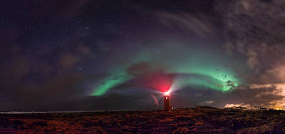 Photograph - The Beacon Of Hope by Sigurdur William Brynjarsson