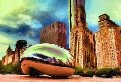 Painting - The Bean - 20 by Ely Arsha