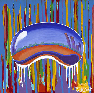 Painting - The Bean by Carla Bank