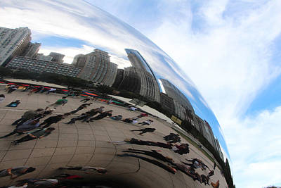 Christine Johnson Photograph - The Bean by Christine Johnson