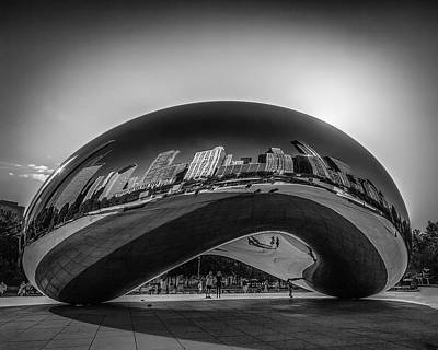 Photograph - The Chicago Bean by Erwin Spinner