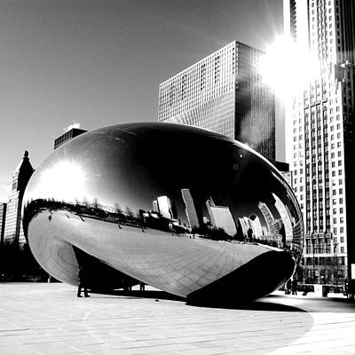 Photograph - The Bean by Jeremiah John McBride