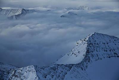 Beartooth Mountain Range Photograph - The Beartooth Mountain Range by Michael Nichols
