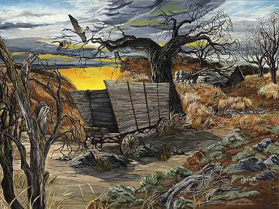 Redlin Painting - The Beaten Path by Jim Olheiser