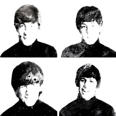 The Beatles 1a Art Print by Brian Reaves