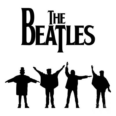 Cadiesart Digital Art - The Beatles No.06 by Caio Caldas