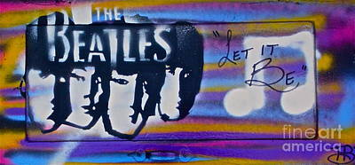 The Beatles Purple Print by Tony B Conscious