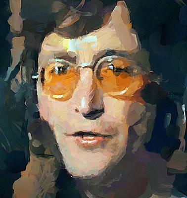 Sightseeing Digital Art - The Beatles Star John 3 by Yury Malkov