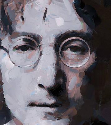 Sightseeing Digital Art - The Beatles Star John by Yury Malkov