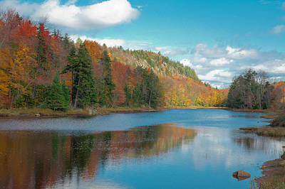New York Photograph - The Beautiful Bald Mountain Pond by David Patterson