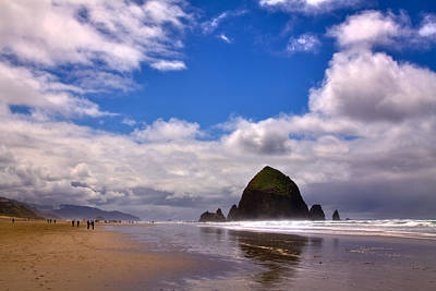 The Beautiful Cannon Beach Oregon Original by David Patterson