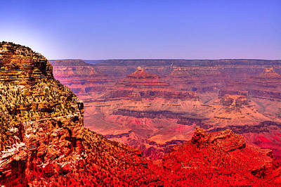 Photograph - The Beautiful Grand Canyon by David Patterson