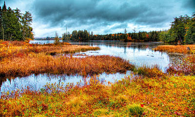 Photograph - The Beautiful Raquette Lake by David Patterson