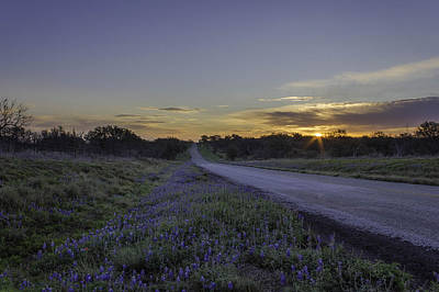 Photograph - The Beautiful Road At Sunrise by Jeffrey W Spencer