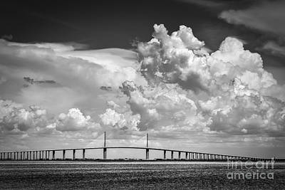 St. Petersburg Photograph - The Beautiful Skyway by Marvin Spates