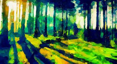 The Beautiful Trees Tnm Art Print by Vincent DiNovici