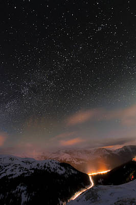Colorado Captures Photograph - The Beauty Above by Mike Berenson
