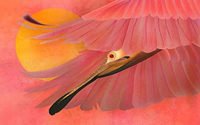 Digital Art - The Beauty Flight - Limited Edition 1 Of 10 by Gabriela Delgado