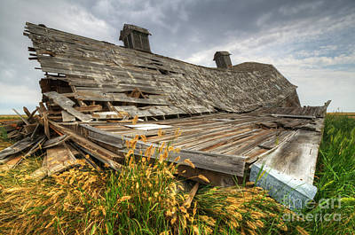 Photograph - The Beauty Of Barns 5 by Bob Christopher
