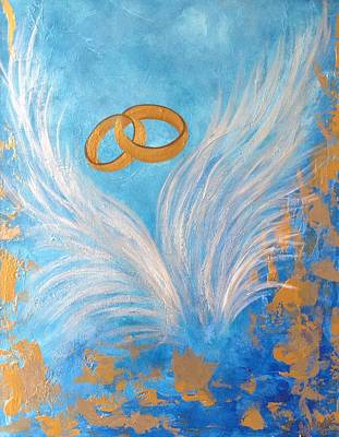 Promise Ring Painting - The Beauty Of Covenant by Eliene  Nunes
