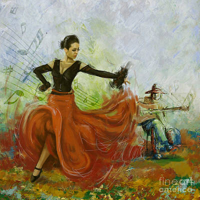 Painting - The Beauty Of Music And Dance by Corporate Art Task Force
