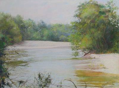 Reproduction Pastel - The Beauty Of Nature by Nancy Stutes