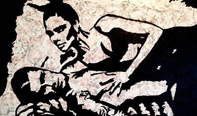 David Beckham Wall Art - Painting - The Beckham's by Katie Lane